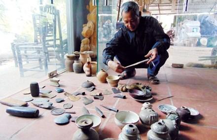 Kho cổ vật dưới đáy Lục Nam giang - 1