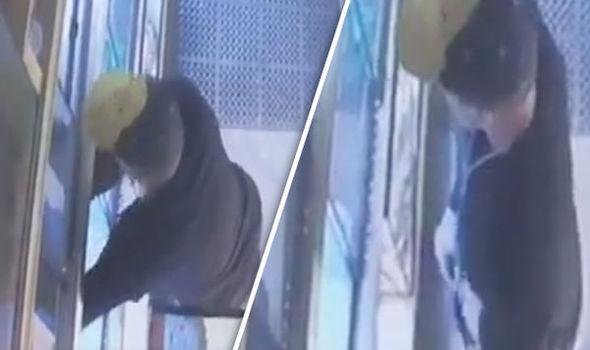 Video: Thanh niên thản nhiên ăn trộm trăn giấu trong quần - 1