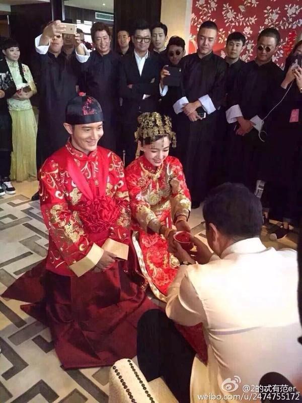 Vợ Huỳnh Hiểu Minh đã sinh quý tử - 1