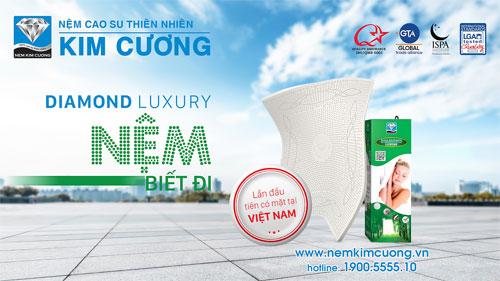 """""""Nệm biết đi"""" đã có mặt tại Việt Nam - 1"""