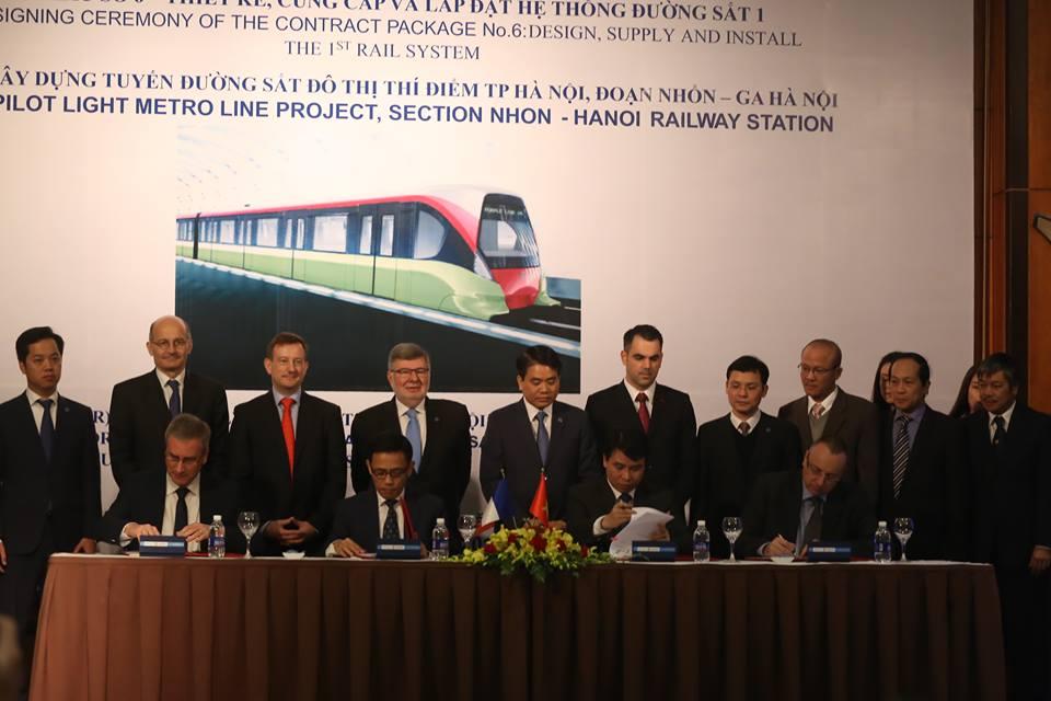Đường sắt trên cao Nhổn - ga HN sẽ chạy tối đa 80km/h - 1