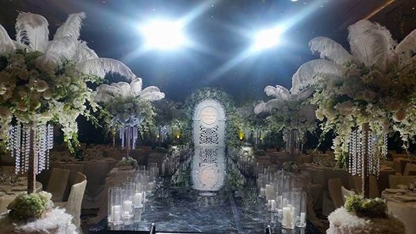 Những con số và khách mời đặc biệt từ đám cưới HH Thu Ngân - 3