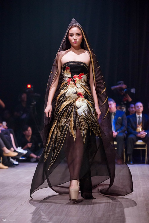 Hoa hậu Thu Ngân, Kỳ Duyên diện họa tiết gà đẹp ngút mắt - 6
