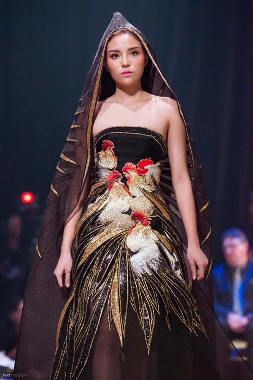 Hoa hậu Thu Ngân, Kỳ Duyên diện họa tiết gà đẹp ngút mắt - 7