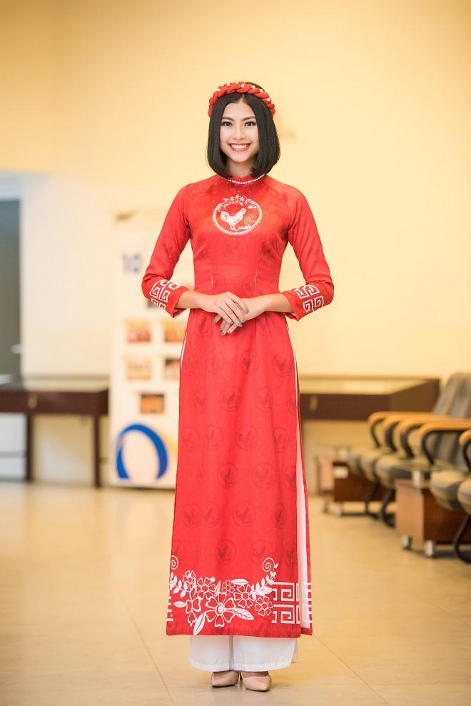 Hoa hậu Thu Ngân, Kỳ Duyên diện họa tiết gà đẹp ngút mắt - 8