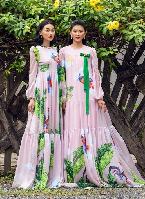 Hoa hậu Thu Ngân, Kỳ Duyên diện họa tiết gà đẹp ngút mắt - 9