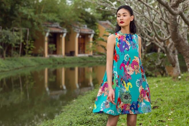 Hoa hậu Thu Ngân, Kỳ Duyên diện họa tiết gà đẹp ngút mắt - 11