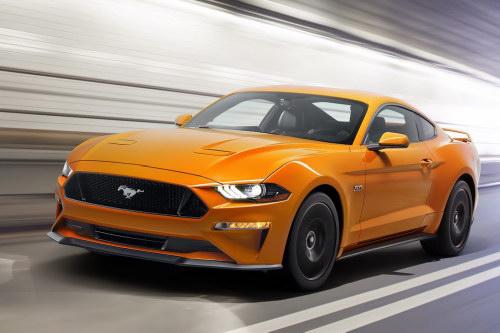 Ford Mustang 2018: Thiết kế mới, hộp số 10 cấp - 1