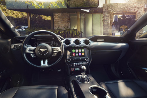 Ford Mustang 2018: Thiết kế mới, hộp số 10 cấp - 2