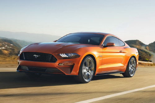Ford Mustang 2018: Thiết kế mới, hộp số 10 cấp - 3