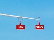 Tiêm kích Nga sản xuất vờn nhau với F-16 trên bầu trời Mỹ