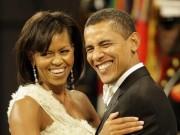 Obama ngọt ngào chúc sinh nhật vợ trước khi rời Nhà Trắng