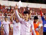 Bóng đá - Chủ tịch Công Vinh bật tung cảm xúc mừng chiến thắng