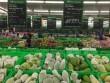 Giá thịt giảm, trái cây tăng