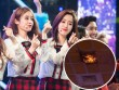 Sân khấu đêm nhạc T-ara bị cháy khiến khán giả hoảng loạn