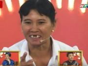 Cô gái nhà nông rớt răng khi đang diễn hài