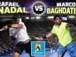 """TRỰC TIẾP Nadal - Baghdatis: Mồi ngon cho """"Bò tót"""""""