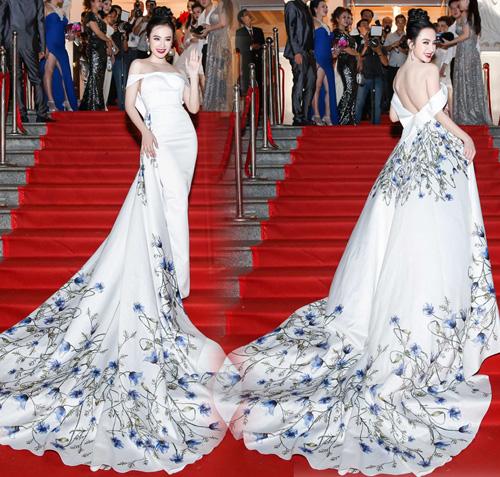 Huyền My, Mỹ Linh dẫn đầu top mặc đẹp với mốt thấu da - 3