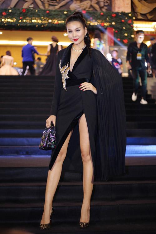 Huyền My, Mỹ Linh dẫn đầu top mặc đẹp với mốt thấu da - 6