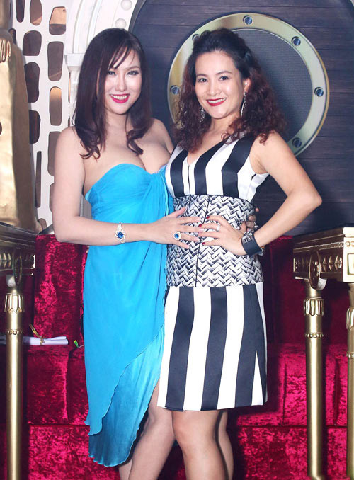 Huyền My, Mỹ Linh dẫn đầu top mặc đẹp với mốt thấu da - 12