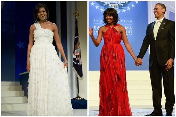 Xiêm y đệ nhất phu nhân Mỹ nào đẹp nhất ngày chồng nhậm chức? - 12