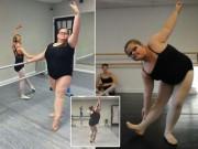 """Bạn trẻ - Cuộc sống - Clip: Nàng béo """"gây bão"""" với màn múa ballet điêu luyện"""