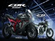 Honda CB650F và CBR650F 2017 ra mắt màu mới