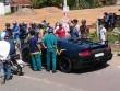 Siêu xe Lamborghini tông chết người đi bộ