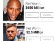 Tin thể thao HOT 22/1: Mayweather chê McGregor nghèo