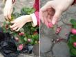 Cô gái trẻ cảnh báo tránh bị lừa khi mua hoa chơi Tết