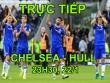 TRỰC TIẾP bóng đá Chelsea - Hull City: Costa trở lại