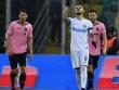 Palermo – Inter: 1 bàn thắng & 2 thẻ đỏ