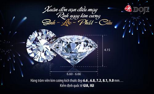Vạn sự may mắn với Kim cương Sinh – Lộc – Phát – Cửu - 2