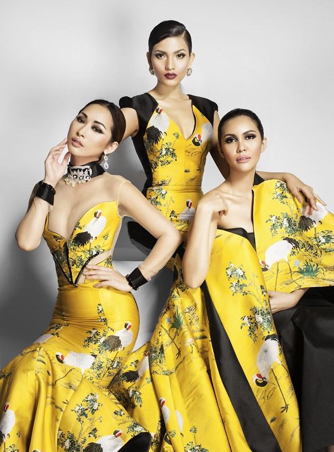 Dàn hoa hậu, mẫu Việt đọ sắc bên Hoa hậu Trái đất - 3
