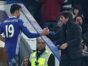 """Bóng đá - Ghi bàn ở trận 100 cho Chelsea, Costa lại được Conte """"yêu"""""""