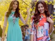 Thời trang - Nguyễn Thị Loan rạng rỡ đón Tết sớm trên phố ngập hoa