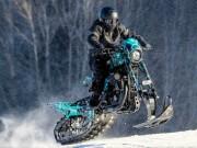 Thế giới xe - Ngạc nhiên Harley-Davidson Roadster độ rồng tuyết