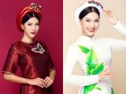 """Thời trang - """"Gục ngã"""" với nhan sắc không tì vết của Á hậu Hoàng Oanh"""