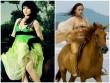 """Mê mẩn phút """"rũ lụa"""" của kiều nữ Việt trên lưng ngựa"""