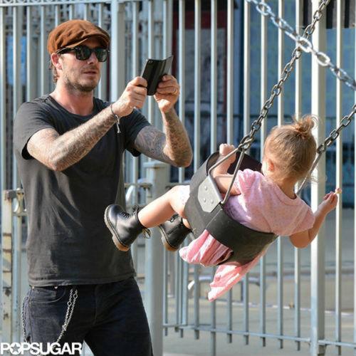 """""""Bà hoàng nhí"""" sang chảnh của siêu sao David Beckham - 2"""