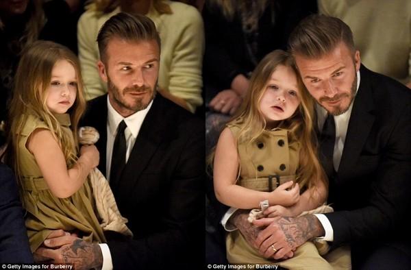 """""""Bà hoàng nhí"""" sang chảnh của siêu sao David Beckham - 3"""