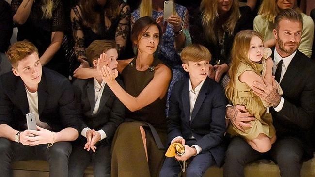 """""""Bà hoàng nhí"""" sang chảnh của siêu sao David Beckham - 1"""