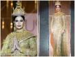 """Hoa hậu Thái """"gây sốt"""" với quốc phục đính 300.000 viên kim cương"""
