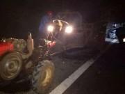 Tin tức trong ngày - 2 người đàn ông chạy xe máy chết thảm trên đường về quê ăn Tết