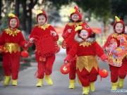 Thế giới - Sắc đỏ rực khắp Trung Quốc chào đón Tết Đinh Dậu