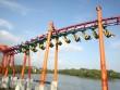 Tàu lượn dạng treo lớn nhất Việt Nam sắp ra mắt tại Asia Park