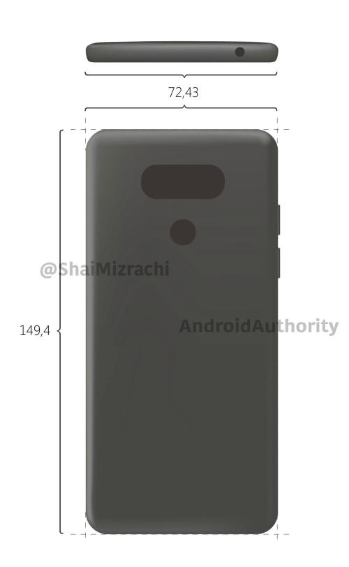 LG G6 lộ ảnh viền màn hình siêu mỏng, ra mắt tháng 2 - 2