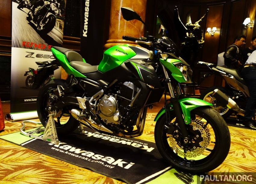Kawasaki tung Z900 ABS, Z650 ABS, Ninja 650 và Versys-X 250 - 2