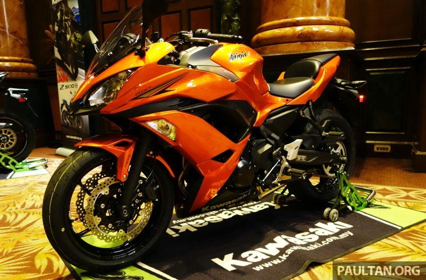 Kawasaki tung Z900 ABS, Z650 ABS, Ninja 650 và Versys-X 250 - 3