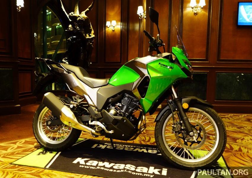 Kawasaki tung Z900 ABS, Z650 ABS, Ninja 650 và Versys-X 250 - 4